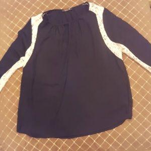 Renee C. blouse size Large